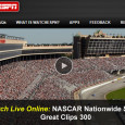 "<!-- AddThis Sharing Buttons above -->                 <div class=""addthis_toolbox addthis_default_style "" addthis:url='http://newstaar.com/watch-nascar-great-clips-300-online-free-live-video-stream-from-atlanta/3511045/'   >                     <a class=""addthis_button_facebook_like"" fb:like:layout=""button_count""></a>                     <a class=""addthis_button_tweet""></a>                     <a class=""addthis_button_pinterest_pinit""></a>                     <a class=""addthis_counter addthis_pill_style""></a>                 </div>For NASCAR Nationwide Series fans who want to watch tonight race, they need to tune into ESPN2 for the full broadcast coverage. For those without access to the channel, or on the go, they can also watch the NASCAR Great Clips 300 online via a […]<!-- AddThis Sharing Buttons below -->                 <div class=""addthis_toolbox addthis_default_style addthis_32x32_style"" addthis:url='http://newstaar.com/watch-nascar-great-clips-300-online-free-live-video-stream-from-atlanta/3511045/'  >                     <a class=""addthis_button_preferred_1""></a>                     <a class=""addthis_button_preferred_2""></a>                     <a class=""addthis_button_preferred_3""></a>                     <a class=""addthis_button_preferred_4""></a>                     <a class=""addthis_button_compact""></a>                     <a class=""addthis_counter addthis_bubble_style""></a>                 </div>"