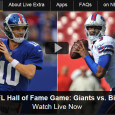 After a long wait, the NFL is back for the 2014-15 season. Tonight NBC is broadcasting the game on television, and for mobile NFL fans, they can watch the NFL Hall of Fame Game online via free live video stream. The online video of the...
