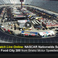 It's Friday night NASCAR under the lights as fans turn out to watch the Nationwide Series Food City 300, starting at 7:30pm eastern. In addition to its televised broadcast, ESPN also streams live video to make it easy to watch the Nationwide Series Food City...