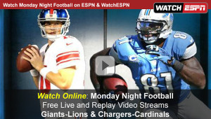 Watch Espn Monday Night Football Online Free Live Video