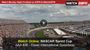 Watch NASCAR Sprint Cup AAA 400 Online Free Live Video Stream