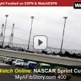 This afternoon the Chicagoland Speedway plays host to the NASCAR Sprint Cup Series drivers in today's MyAFibStory.com 400. The race consists of 267 laps over 400.5 miles and will be televised on ESPN television and MRN for radio listeners. Mobile race fans can watch the...