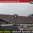 This weekend the race for Sprint Cup series points heads to the New Hampshire Motor Speedway as drivers compete in the Sylvania 300. The race begins at 2pm eastern and airs on ESPN. Fans can also watch the NASCAR Sylvania 300 online using a free...