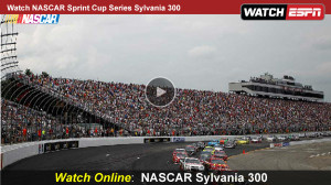 Watch NASCAR Sylvania 300 Online – Free Live Video Stream of ESPN Sprint Cup Series from New Hampshire