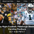 """<!-- AddThis Sharing Buttons above -->                 <div class=""""addthis_toolbox addthis_default_style """" addthis:url='http://newstaar.com/watch-nbc-sunday-night-football-online-free-live-video-stream-of-steelers-panthers/3511131/'   >                     <a class=""""addthis_button_facebook_like"""" fb:like:layout=""""button_count""""></a>                     <a class=""""addthis_button_tweet""""></a>                     <a class=""""addthis_button_pinterest_pinit""""></a>                     <a class=""""addthis_counter addthis_pill_style""""></a>                 </div>Tonight the Pittsburgh Steelers head to Charlotte to take on the Carolina Panthers on Sunday Night Football. Hot off of a win in week 2, the Panthers are eager to continue their winning streak and they host the Steelers. While NBC broadcasts the game for […]<!-- AddThis Sharing Buttons below -->                 <div class=""""addthis_toolbox addthis_default_style addthis_32x32_style"""" addthis:url='http://newstaar.com/watch-nbc-sunday-night-football-online-free-live-video-stream-of-steelers-panthers/3511131/'  >                     <a class=""""addthis_button_preferred_1""""></a>                     <a class=""""addthis_button_preferred_2""""></a>                     <a class=""""addthis_button_preferred_3""""></a>                     <a class=""""addthis_button_preferred_4""""></a>                     <a class=""""addthis_button_compact""""></a>                     <a class=""""addthis_counter addthis_bubble_style""""></a>                 </div>"""