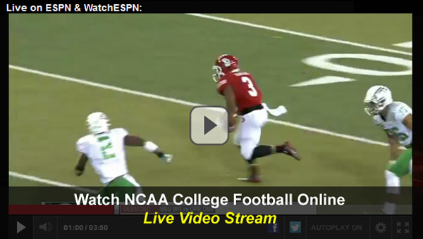 ncaa football streaming college football espn schedule