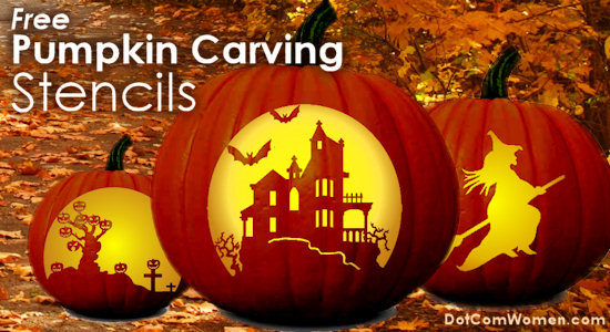 Free online pumpkin carving templates stencils patterns