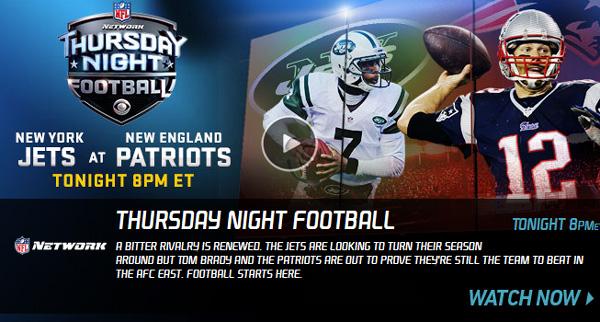 thursday night nfl matchup nfl tv