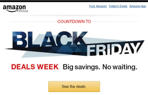 Black Friday Deals Week (and earlier) Items Announced to Amazon Online Shoppers