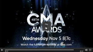 Watch 2014 CMA Awards Online via Live Video Stream