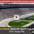 "<!-- AddThis Sharing Buttons above -->                 <div class=""addthis_toolbox addthis_default_style "" addthis:url='http://newstaar.com/watch-nascar-aaa-texas-500-online-live-video-stream-of-sprint-cup-race/3511338/'   >                     <a class=""addthis_button_facebook_like"" fb:like:layout=""button_count""></a>                     <a class=""addthis_button_tweet""></a>                     <a class=""addthis_button_pinterest_pinit""></a>                     <a class=""addthis_counter addthis_pill_style""></a>                 </div>The Texas Motor Speedway is home to the continued chase for the Sprint Cup as NASCAR drivers gather in the AAA Texas 500. With critical points on the line, top drivers will battle for position as fans tune in on ESPN and also watch the […]<!-- AddThis Sharing Buttons below -->                 <div class=""addthis_toolbox addthis_default_style addthis_32x32_style"" addthis:url='http://newstaar.com/watch-nascar-aaa-texas-500-online-live-video-stream-of-sprint-cup-race/3511338/'  >                     <a class=""addthis_button_preferred_1""></a>                     <a class=""addthis_button_preferred_2""></a>                     <a class=""addthis_button_preferred_3""></a>                     <a class=""addthis_button_preferred_4""></a>                     <a class=""addthis_button_compact""></a>                     <a class=""addthis_counter addthis_bubble_style""></a>                 </div>"