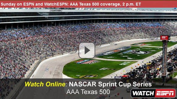 Watch NASCAR AAA Texas 500 Online – Live Video Stream of Sprint Cup Race