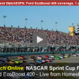 Today the drivers of NASCAR meet in Homestead for the final race of the season and to determine the winner of the 2014 Sprint Cup Series Championship. ESPN will broadcast the race on television at 3pm eastern and will also let race fans watch the...