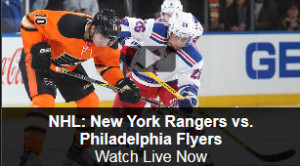 Watch NHL Online: Rangers vs. Flyers Free Live Video Stream from NBC Sports
