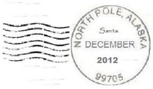 Letters from Santa with North Pole Postmark are a Reality