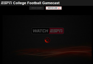 espn gamecast ncaaf sirius ncaa football