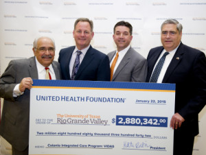$2.88 Million Grant Awarded to UT Rio Grande Valley School of Medicine