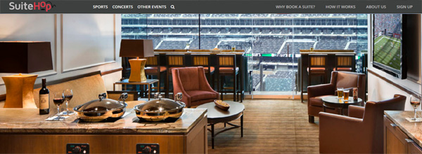 Website Lets Fans Access Luxury Suites and Tickets for Super Bowl