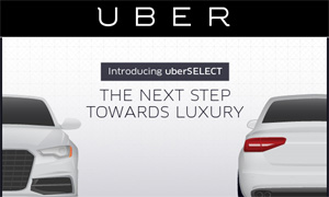 UBER Introduces New Luxury Car Service at Affordable Price