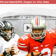 "<!-- AddThis Sharing Buttons above -->                 <div class=""addthis_toolbox addthis_default_style "" addthis:url='http://newstaar.com/cfp-national-championship-watch-free-espn-live-stream-of-oregon-vs-ohio-state-online/3511643/'   >                     <a class=""addthis_button_facebook_like"" fb:like:layout=""button_count""></a>                     <a class=""addthis_button_tweet""></a>                     <a class=""addthis_button_pinterest_pinit""></a>                     <a class=""addthis_counter addthis_pill_style""></a>                 </div>It all comes down to one game tonight for the NCAA CFP National Championship as the Oregon Ducks take on the Ohio State Buckeyes. The game broadcasts on ESPN television, and viewers can also watch the live stream of ESPN and the National Championship online […]<!-- AddThis Sharing Buttons below -->                 <div class=""addthis_toolbox addthis_default_style addthis_32x32_style"" addthis:url='http://newstaar.com/cfp-national-championship-watch-free-espn-live-stream-of-oregon-vs-ohio-state-online/3511643/'  >                     <a class=""addthis_button_preferred_1""></a>                     <a class=""addthis_button_preferred_2""></a>                     <a class=""addthis_button_preferred_3""></a>                     <a class=""addthis_button_preferred_4""></a>                     <a class=""addthis_button_compact""></a>                     <a class=""addthis_counter addthis_bubble_style""></a>                 </div>"