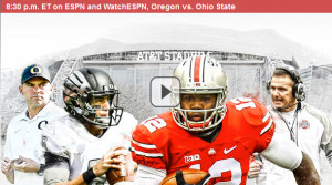 CFP National Championship: Watch Free ESPN Live Stream of Oregon vs. Ohio State Online