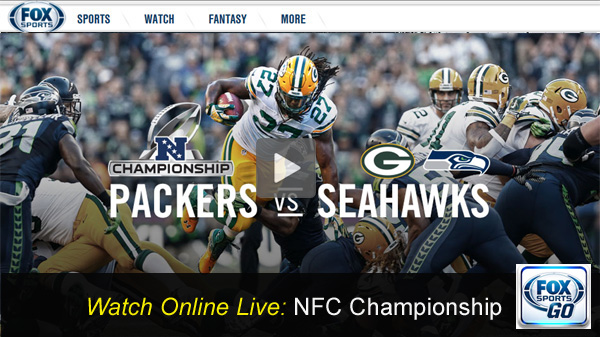 NFC Championship: Watch Fox Online Stream of Seahawks vs. Packers Free