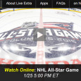 This evening the top players in the NHL gather in an all-star performance for ice-hockey fans from all around. For television audiences, the game airs on NBC Sports Network (NBCSN). For those who don't have that channel as an option, it is also possible to...