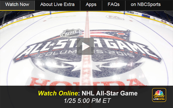 Watch 2015 NHL All-Star Game Online – Live Stream Free from NBCSN