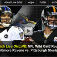 "<!-- AddThis Sharing Buttons above -->                 <div class=""addthis_toolbox addthis_default_style "" addthis:url='http://newstaar.com/watch-steelers-ravens-wild-card-game-online-video-stream-from-nbc/3511550/'   >                     <a class=""addthis_button_facebook_like"" fb:like:layout=""button_count""></a>                     <a class=""addthis_button_tweet""></a>                     <a class=""addthis_button_pinterest_pinit""></a>                     <a class=""addthis_counter addthis_pill_style""></a>                 </div>The whole season comes down to one game tonight for the Pittsburgh Steelers and the Baltimore Ravens. The two teams meet tonight on a special wild-card Saturday edition of NBC Sunday Night Football. For those not in front of a TV tonight, the good news […]<!-- AddThis Sharing Buttons below -->                 <div class=""addthis_toolbox addthis_default_style addthis_32x32_style"" addthis:url='http://newstaar.com/watch-steelers-ravens-wild-card-game-online-video-stream-from-nbc/3511550/'  >                     <a class=""addthis_button_preferred_1""></a>                     <a class=""addthis_button_preferred_2""></a>                     <a class=""addthis_button_preferred_3""></a>                     <a class=""addthis_button_preferred_4""></a>                     <a class=""addthis_button_compact""></a>                     <a class=""addthis_counter addthis_bubble_style""></a>                 </div>"