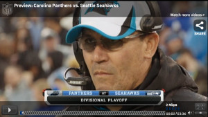 Fox Lets Fans Watch Seahawks-Panthers NFC Playoff Game Online