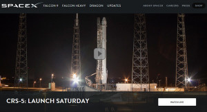 Live Video: SpaceX Launch of Falcon 9 Rocket and Dragon Spacecraft on CRS-5 Mission