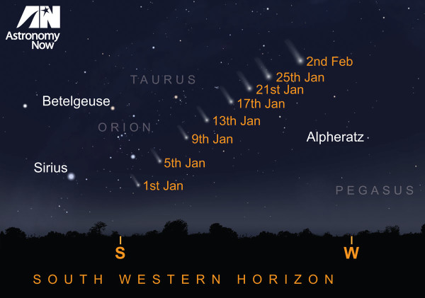 See Comet Lovejoy in 2015: Where to Look in the Night Sky