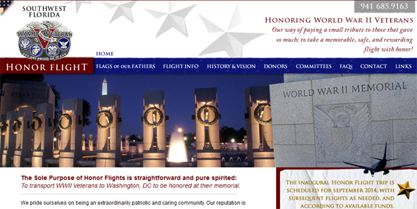 Flying Club Helps WWII Veterans get to Washington D.C. Memorial