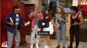 Tiffani Thiessen and Saved by the Bell Cast Reunite on Jimmy Fallon's Tonight Show