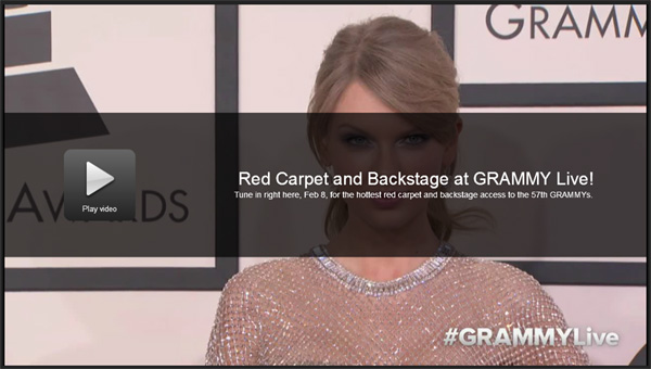 Watch 2015 Grammy Awards Live CBS Video Stream Online